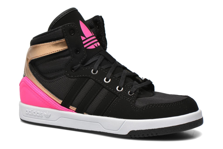 Baskets Adidas Originals COURT ATTITUDE K Multicolore vue détail/paire