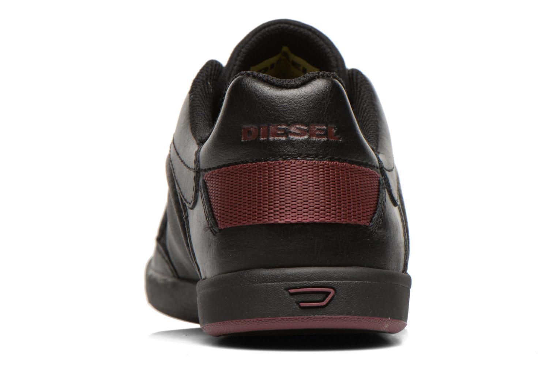 Sneaker Diesel Starch schwarz ansicht von rechts