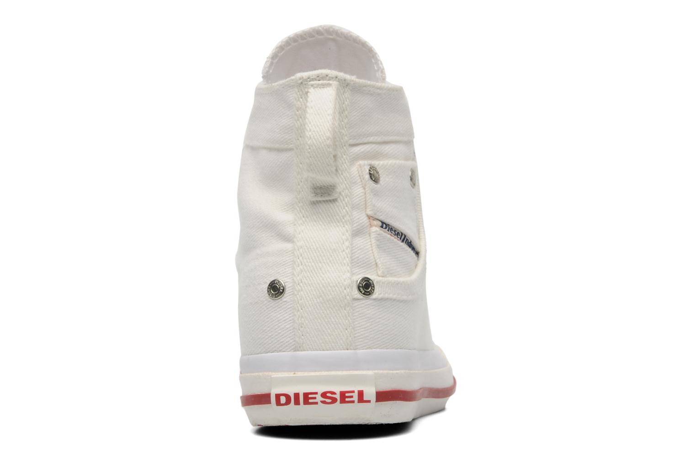 Sneaker Diesel Magnete weiß ansicht von rechts