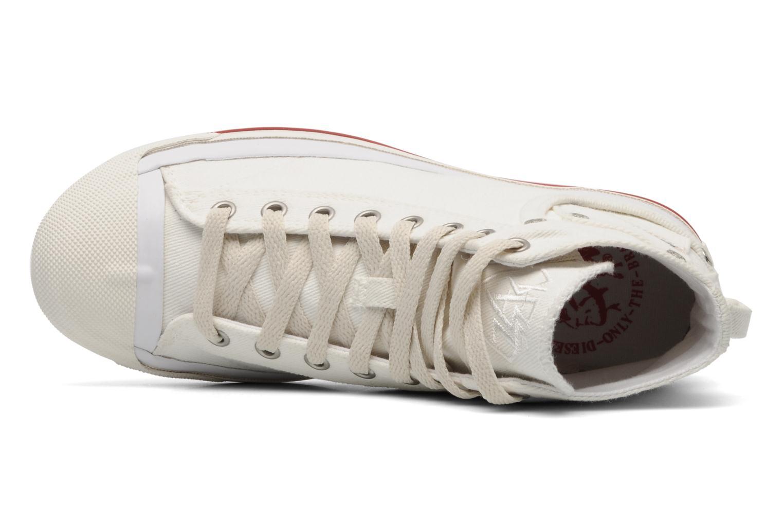 Sneaker Diesel Magnete weiß ansicht von links