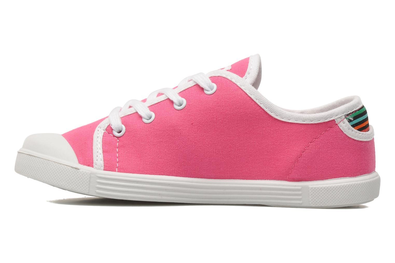Sneaker Little Marcel SANLAS UNI J rosa ansicht von vorne