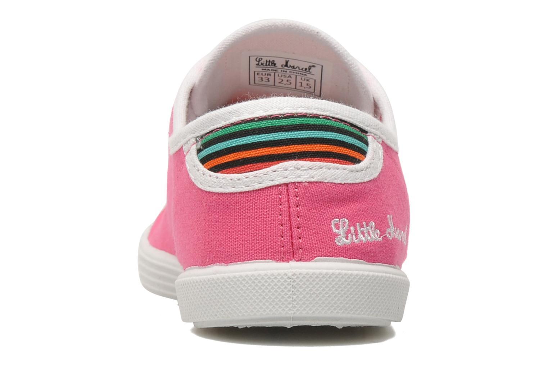 Sneakers Little Marcel SANLAS UNI J Roze rechts