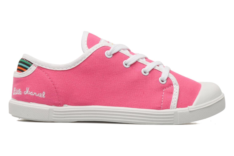 Sneaker Little Marcel SANLAS UNI J rosa ansicht von hinten