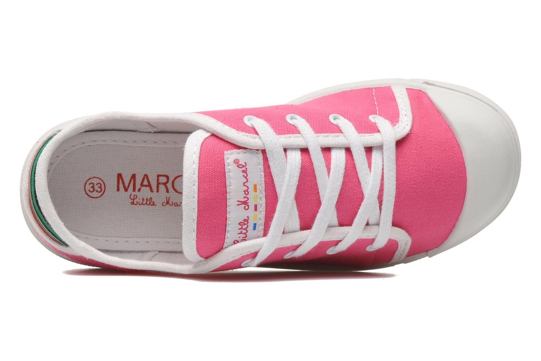 Sneaker Little Marcel SANLAS UNI J rosa ansicht von links