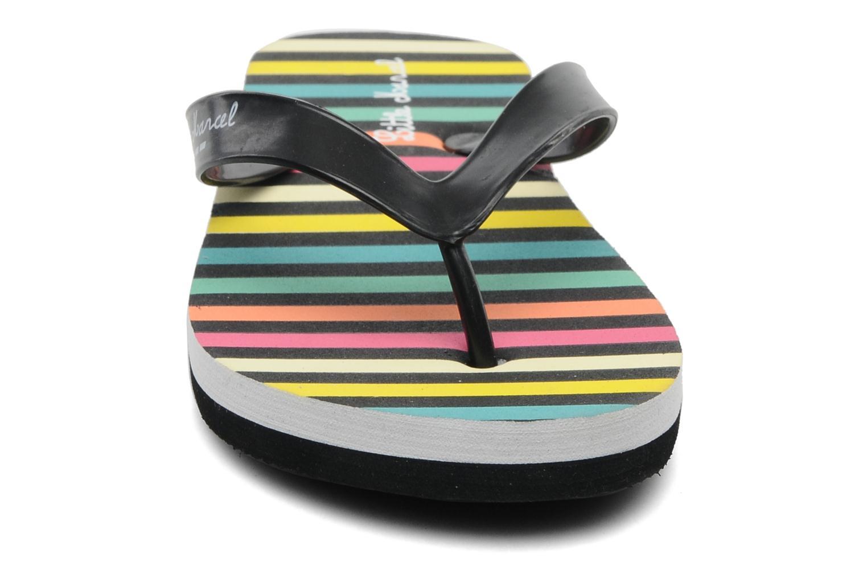 Tongs Little Marcel TAYGA J Multicolore vue portées chaussures