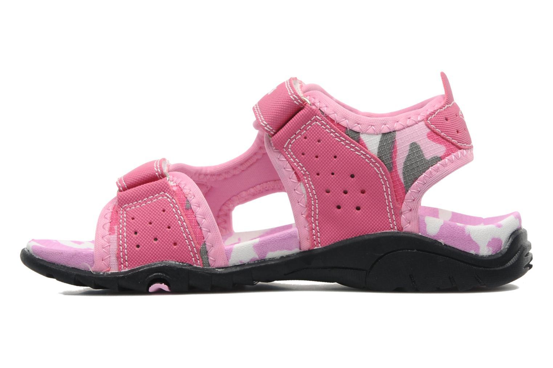 Sandalen Kangaroos Camo Sinc rosa ansicht von vorne