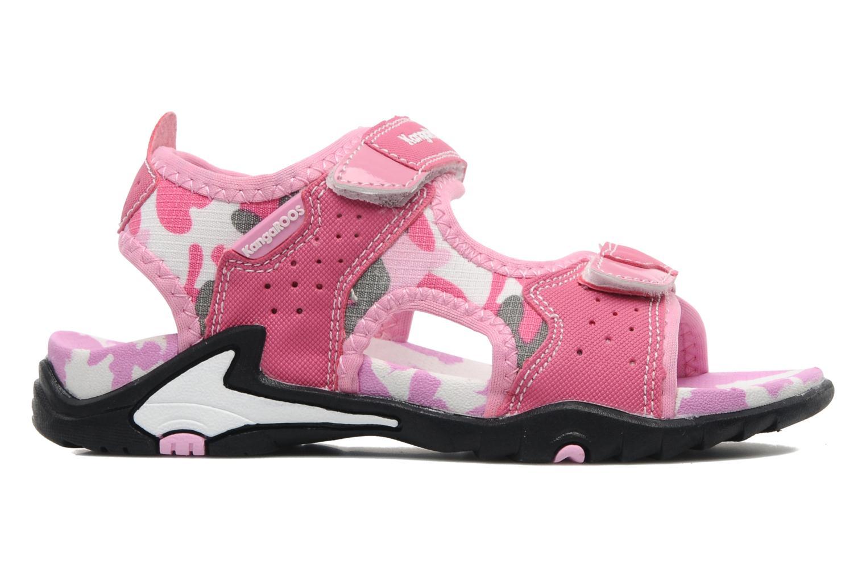 Sandalen Kangaroos Camo Sinc rosa ansicht von hinten
