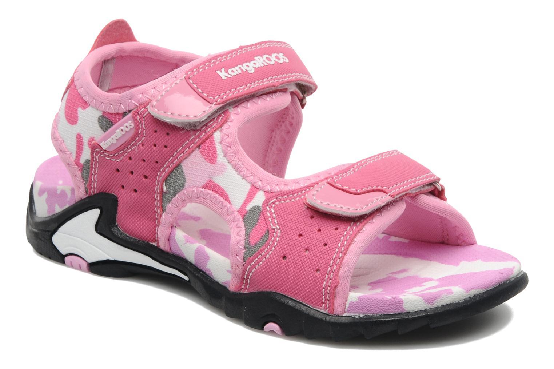 Sandales et nu-pieds Kangaroos Camo Sinc Rose vue détail/paire