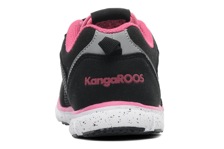 Sneaker Kangaroos Nara schwarz ansicht von rechts
