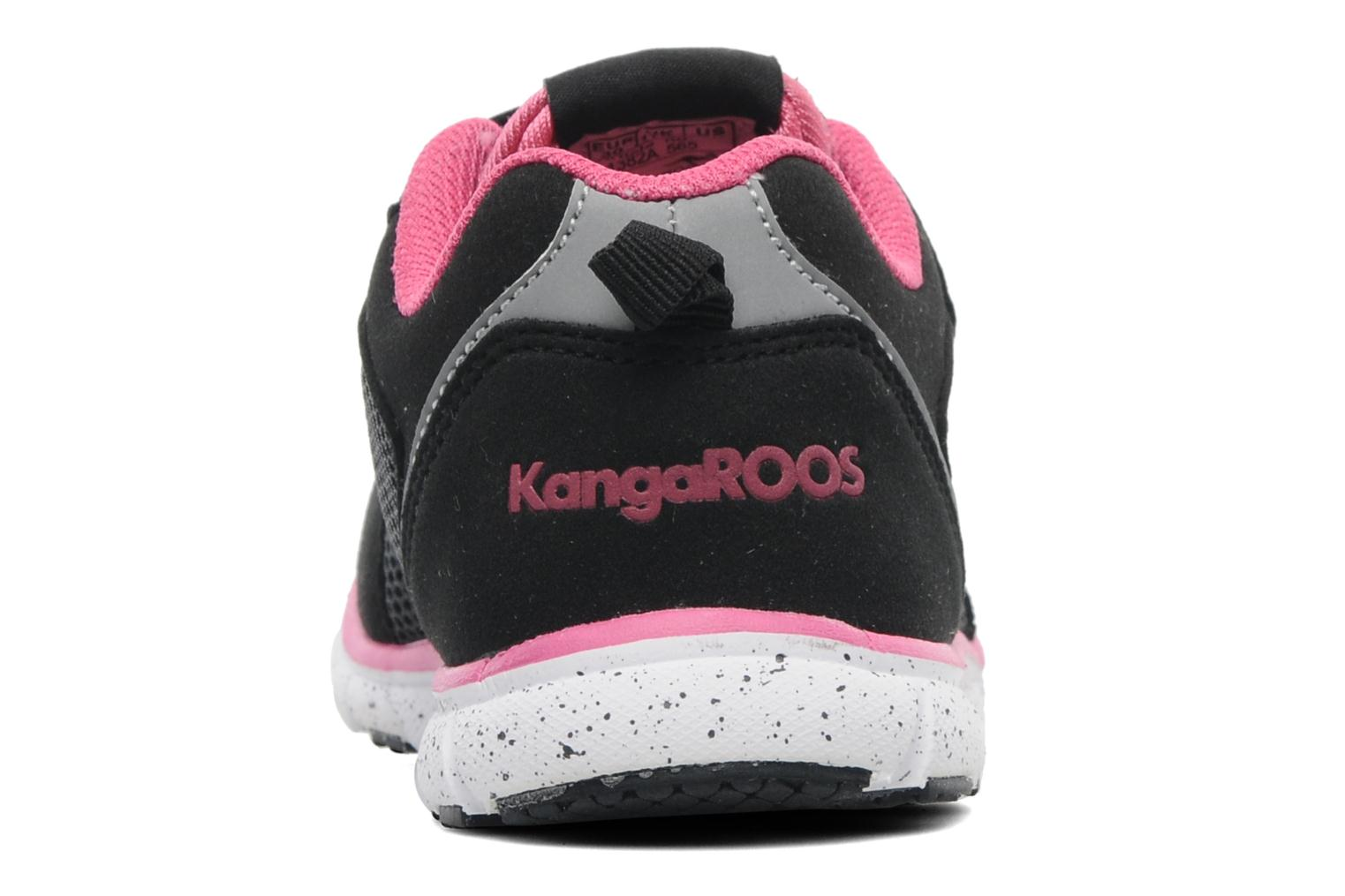 Trainers Kangaroos Nara Black view from the right