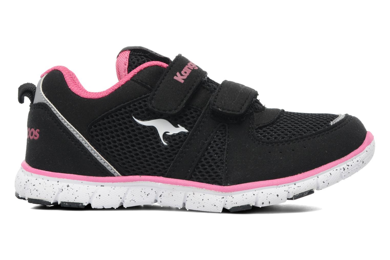Sneaker Kangaroos Nara schwarz ansicht von hinten