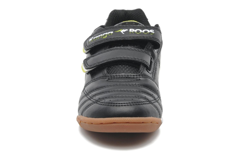 Sneaker Kangaroos Power Court schwarz schuhe getragen