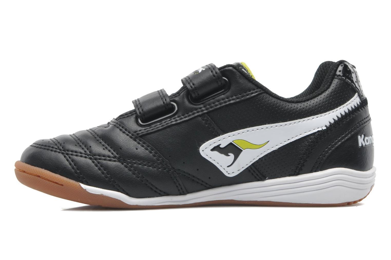 Sneaker Kangaroos Power Court schwarz ansicht von vorne