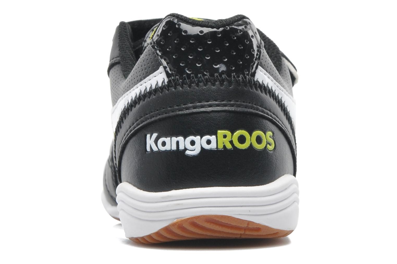 Sneaker Kangaroos Power Court schwarz ansicht von rechts