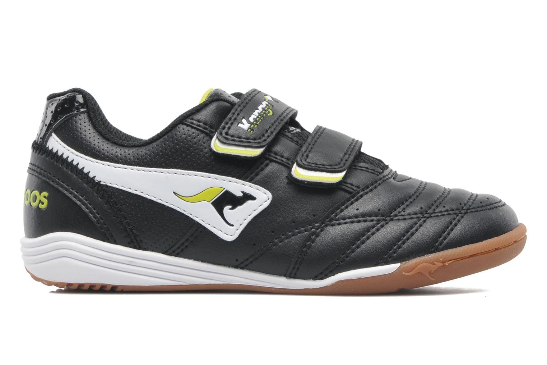 Sneaker Kangaroos Power Court schwarz ansicht von hinten