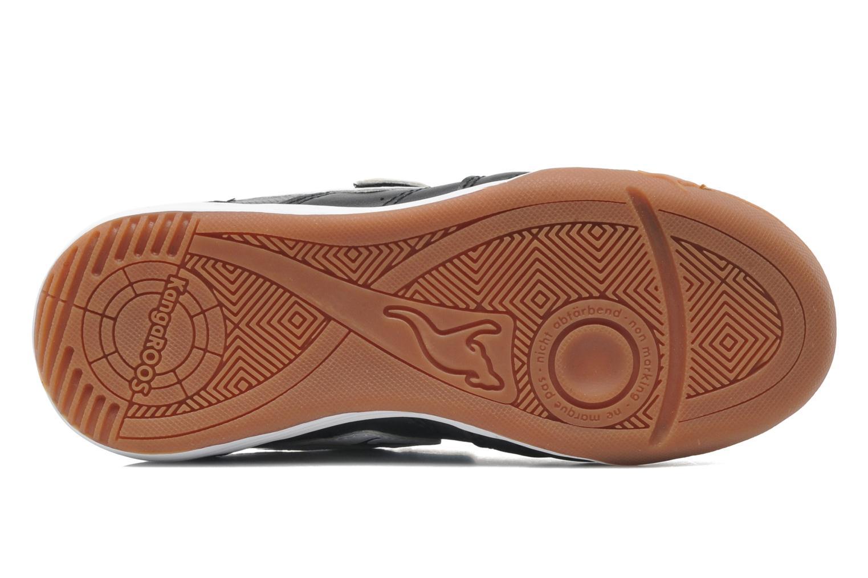 Sneaker Kangaroos Power Court schwarz ansicht von oben