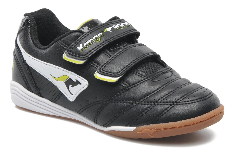 Sneakers Kangaroos Power Court Zwart detail