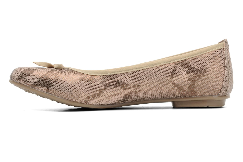 Ballerinas Jana shoes Sogemmi beige ansicht von vorne