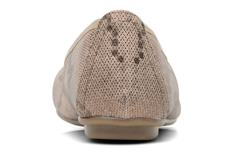 Ballerinas Jana shoes Sogemmi beige ansicht von rechts