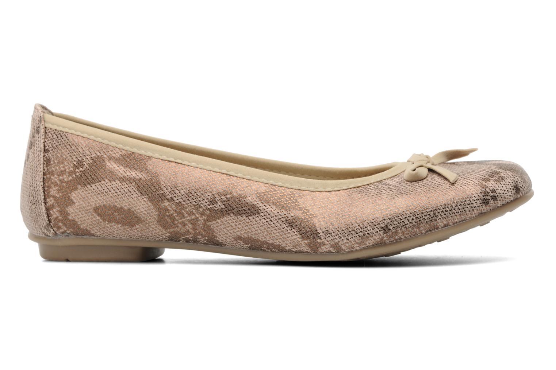 Ballerinas Jana shoes Sogemmi beige ansicht von hinten