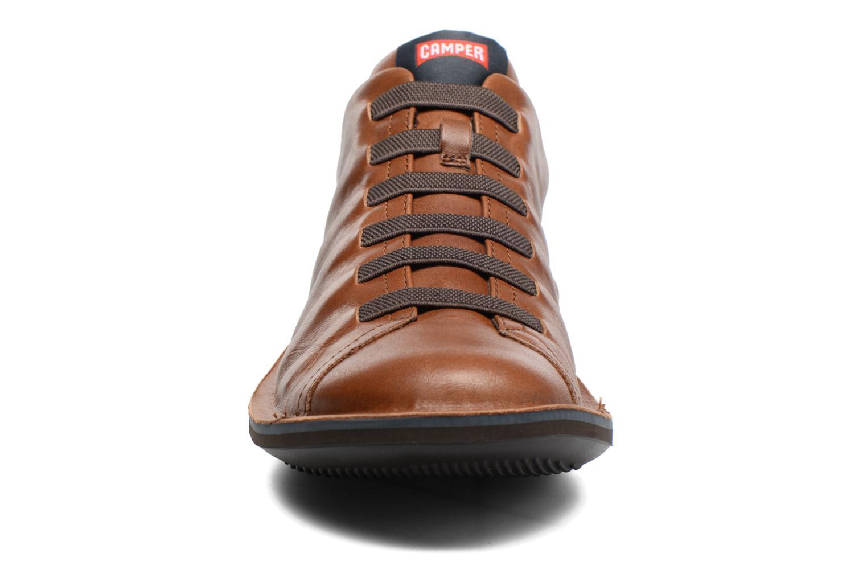 Sneaker Camper Beetle 18751 braun schuhe getragen