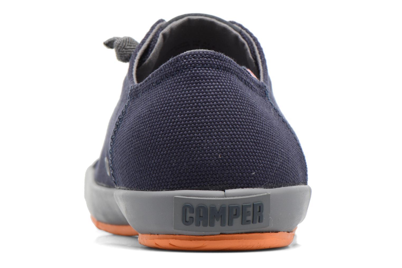 Sneaker Camper Peu Rambla Vulcanizado 18869 blau ansicht von rechts