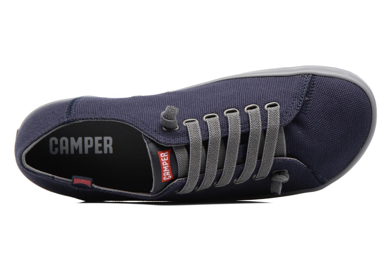 Sneaker Camper Peu Rambla Vulcanizado 18869 blau ansicht von links