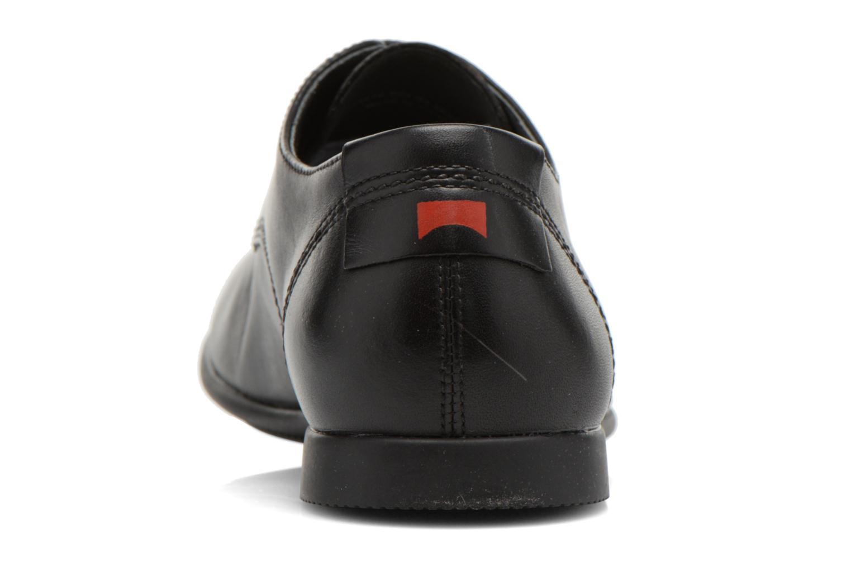 Chaussures à lacets Camper Slippers Sun 18878 Noir vue droite