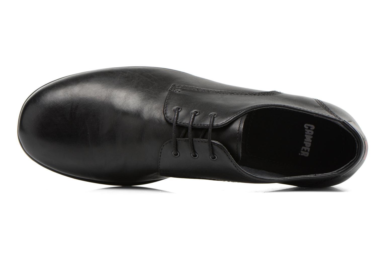 Chaussures à lacets Camper Slippers Sun 18878 Noir vue gauche