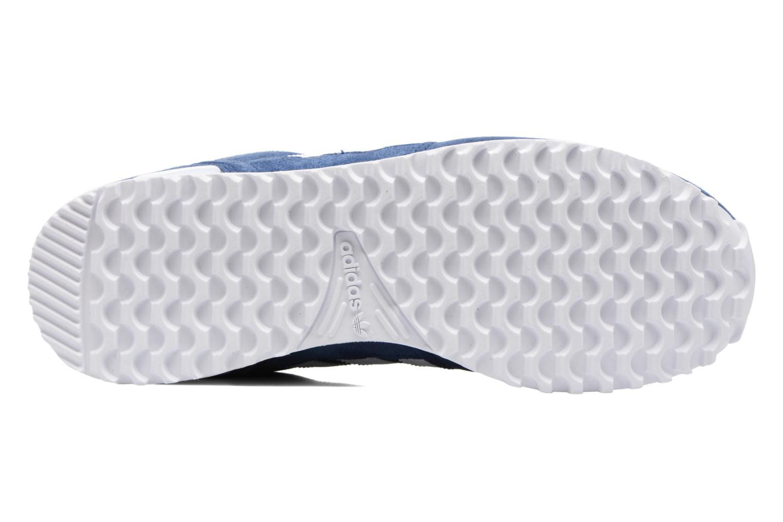 Baskets Adidas Originals Zx 700 Bleu vue haut