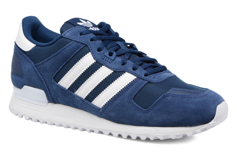 Baskets Adidas Originals Zx 700 Bleu vue détail/paire