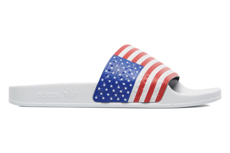 Sandalen Adidas Originals Adilette Flags mehrfarbig ansicht von hinten