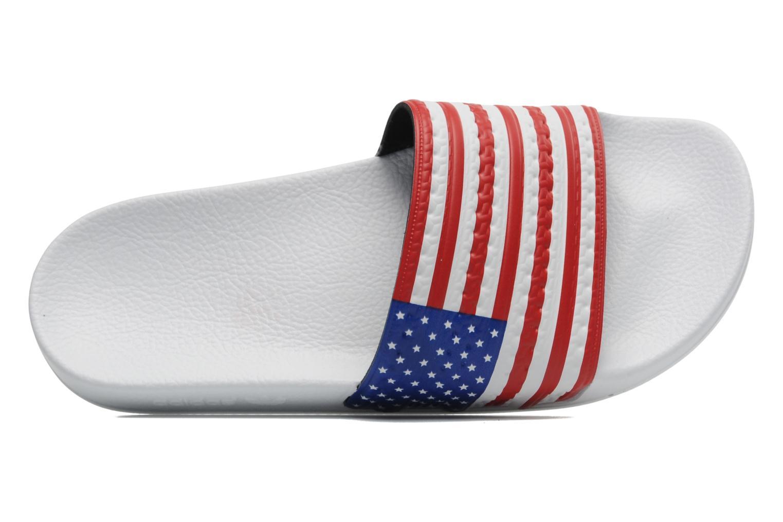 Sandalen Adidas Originals Adilette Flags mehrfarbig ansicht von links