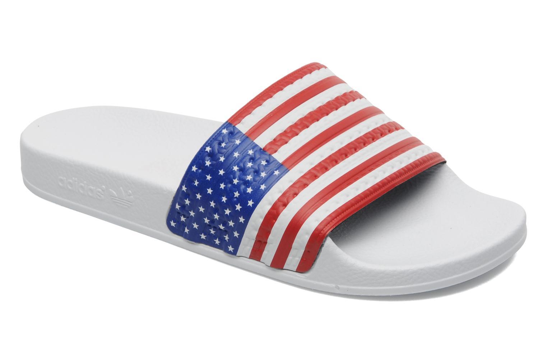 Sandalen Adidas Originals Adilette Flags mehrfarbig detaillierte ansicht/modell