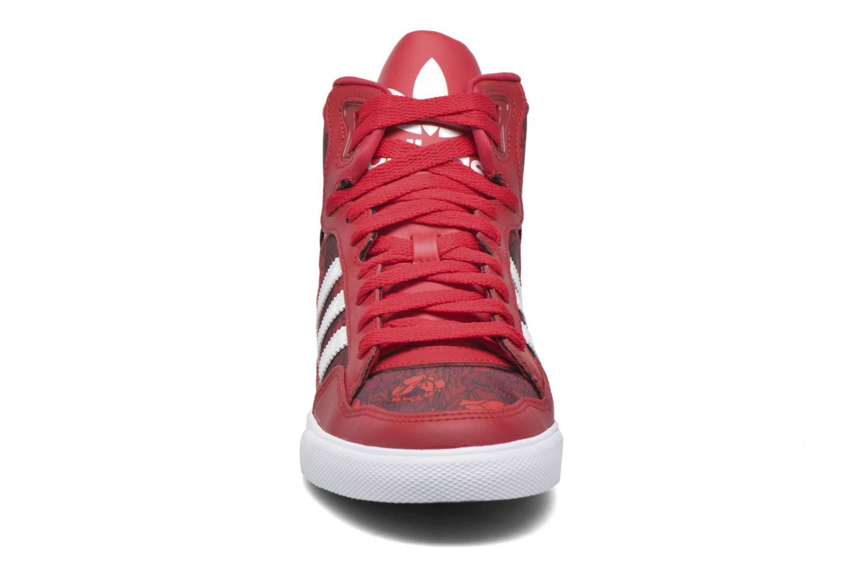 Sneaker Adidas Originals Extaball W rot schuhe getragen