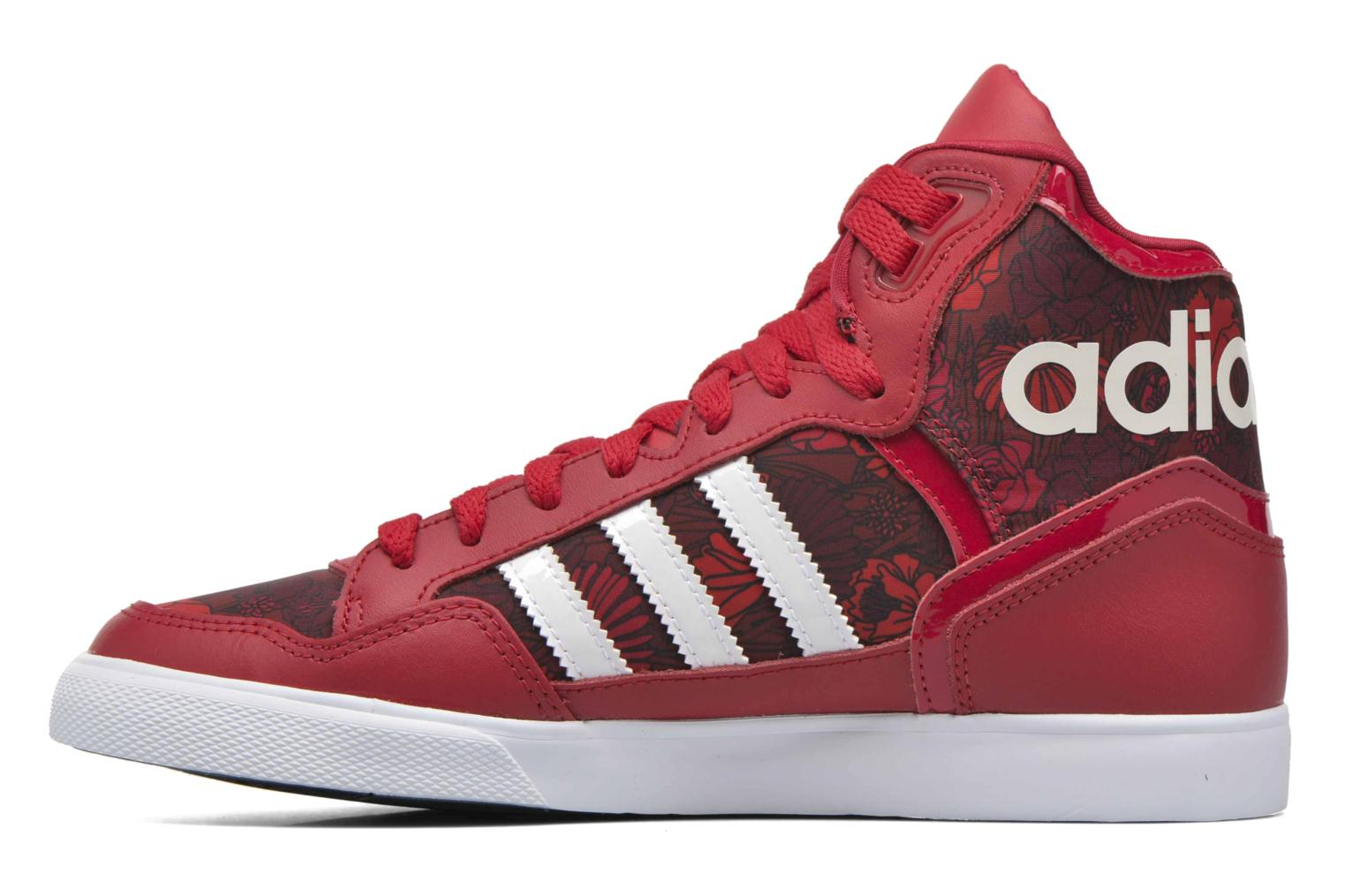 Baskets Adidas Originals Extaball W Rouge vue face