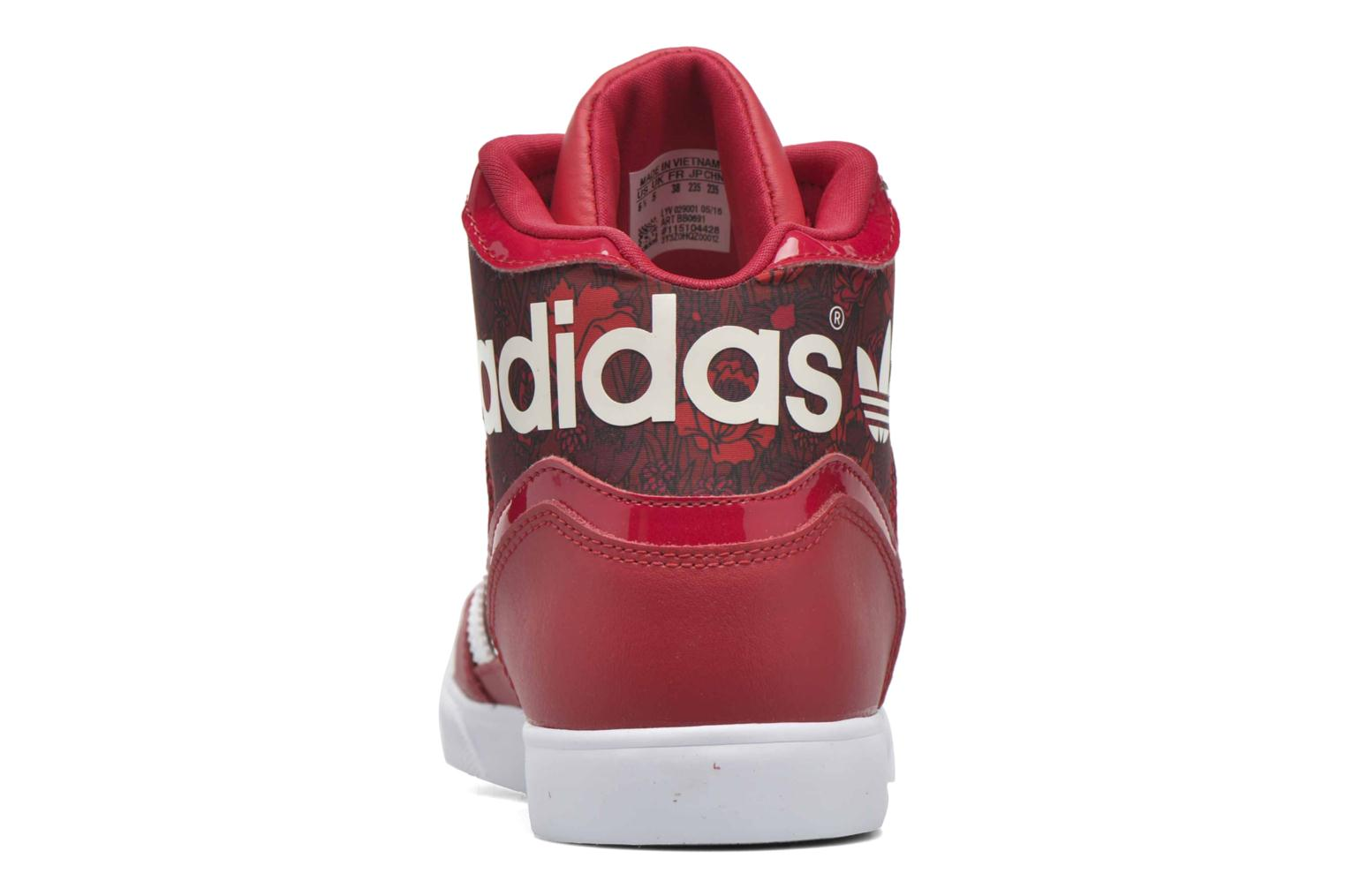 Baskets Adidas Originals Extaball W Rouge vue droite