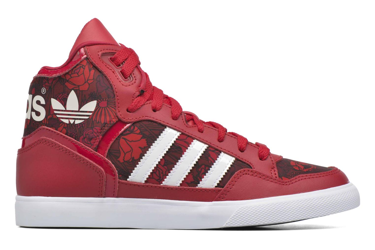 Baskets Adidas Originals Extaball W Rouge vue derrière