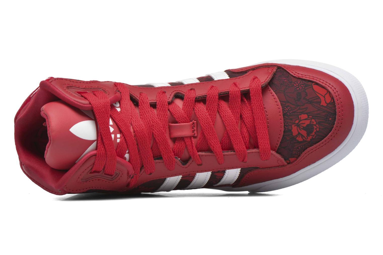 Sneaker Adidas Originals Extaball W rot ansicht von links
