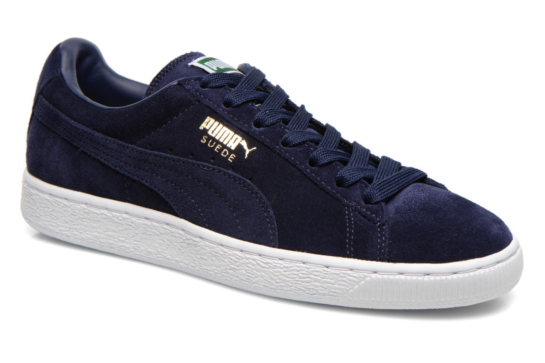 Suede Puma Bleu