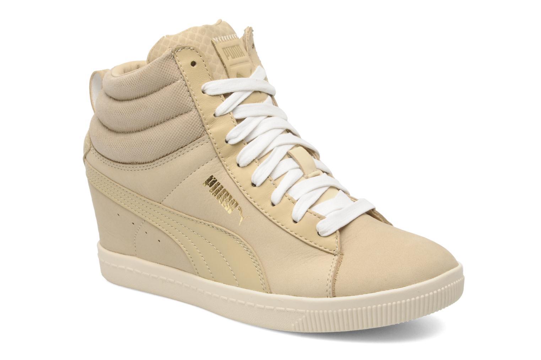 puma classic wedge beige