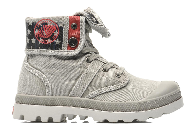Stiefeletten & Boots Palladium Baggy Kid Flag grau ansicht von hinten