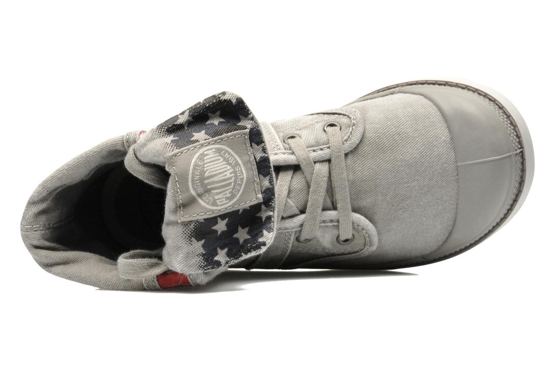 Stiefeletten & Boots Palladium Baggy Kid Flag grau ansicht von links