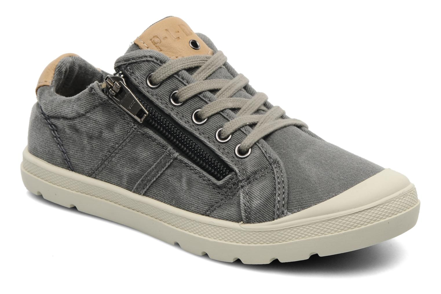 Baskets P-L-D-M By Palladium FABIAN CVS Gris vue détail/paire