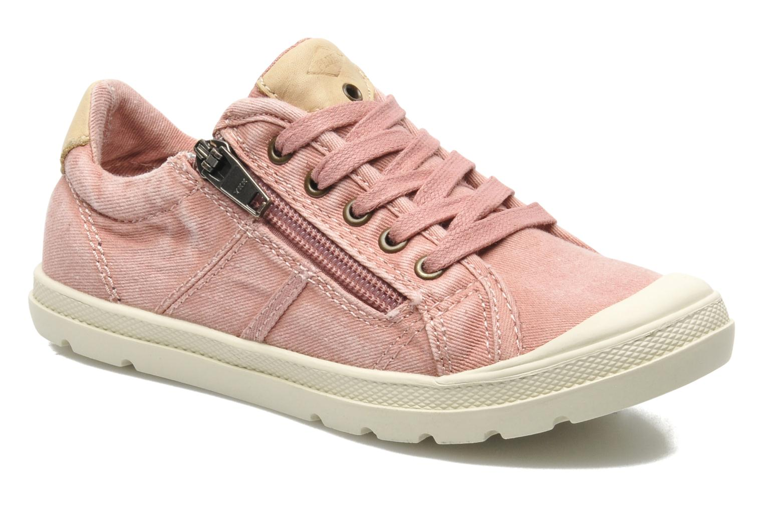 Baskets P-L-D-M By Palladium FABIAN CVS Rose vue détail/paire