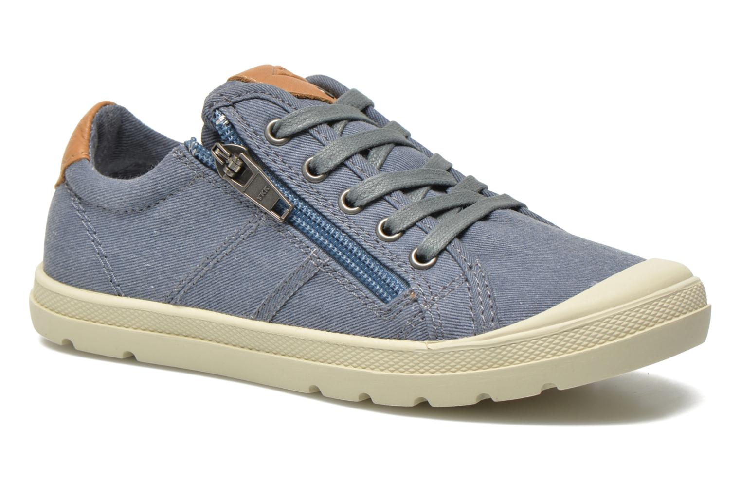 Baskets P-L-D-M By Palladium FABIAN CVS Bleu vue détail/paire