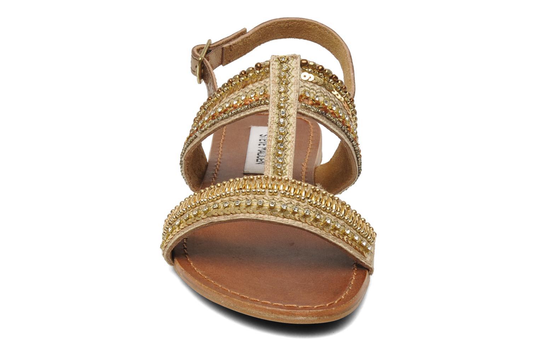 Sandales et nu-pieds Steve Madden Dubai Or et bronze vue portées chaussures