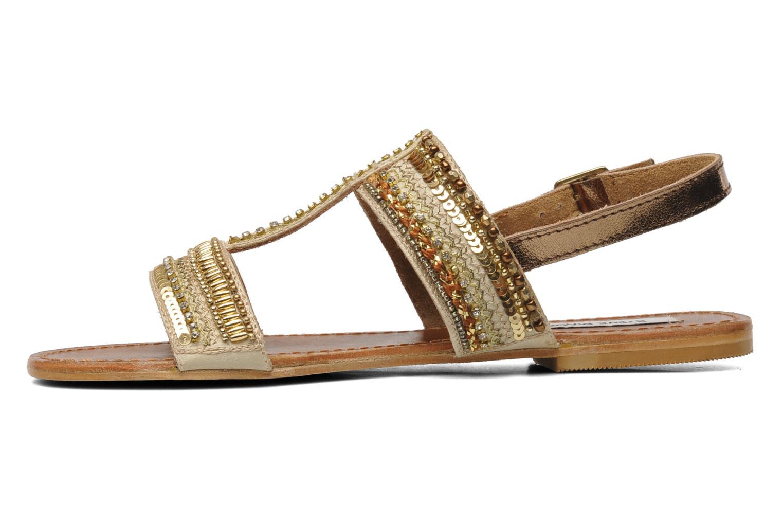 Sandales et nu-pieds Steve Madden Dubai Or et bronze vue face