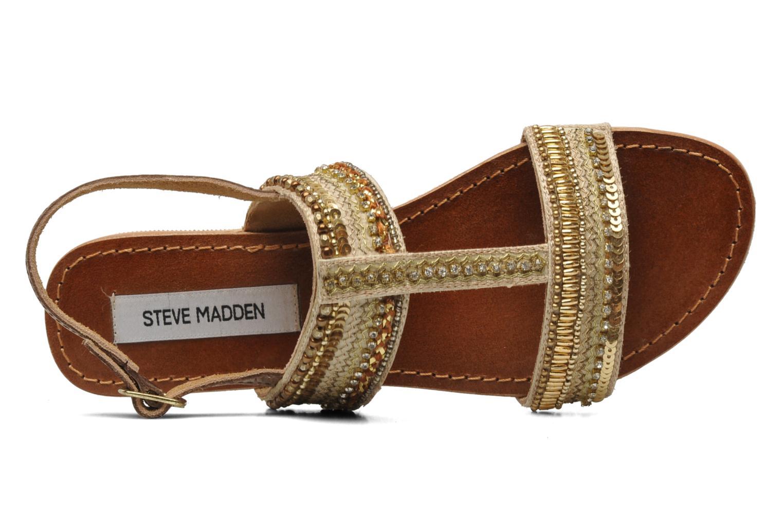 Sandales et nu-pieds Steve Madden Dubai Or et bronze vue gauche