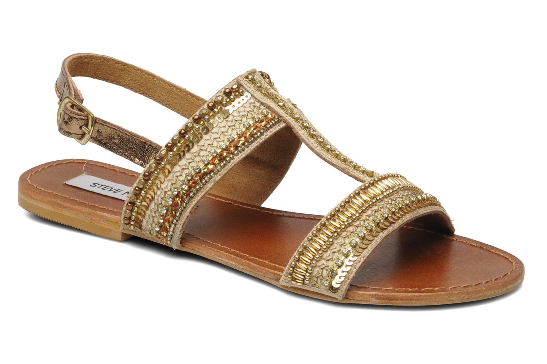 Sandales et nu-pieds Steve Madden Dubai Or et bronze vue détail/paire